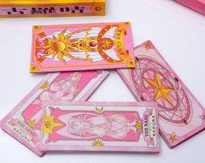 Japan-Anime-Card-Captor-Sakura-Cosplay-55PCS-The-Clow-Cards-in-Gift-Box